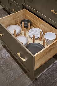 kitchen cabinet drawer peg organizer pegged dish organizer cabinetry