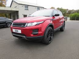 land rover range rover evoque black used land rover range rover evoque hatchback 2 2 ed4 pure tech