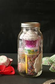 cupcake jar gift diy home with cupcakes