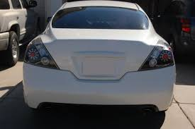 nissan altima tail light cover 12 nissan altima led tail lights 08 09 10 dash z racing blog