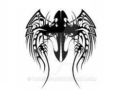 tribal wing design v1 by vanskof on deviantart