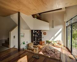 split level homes interior beautiful blackpool house blends split level design with an open