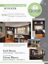 Drury Designs by Gail Drury Receives Top Honors From Grabill Cabinetry For Kitchen