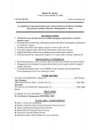Objective Example Resume by Examples Of Resumes Example Cv Sample Resume For Students Short
