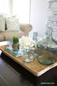 Table Decoration Ideas Coffee Table Tufted Ottoman Coffee Table Decor Best Trays For