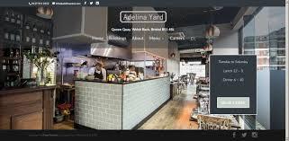 website for fine dining restaurant mani digital designer
