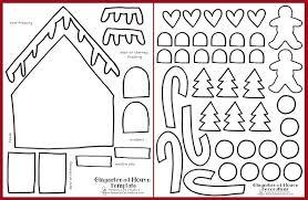 printable gingerbread house craft keeping life creative