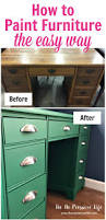 how to paint furniture easily even if you painting