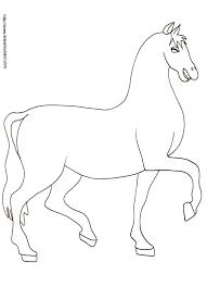 coloriage chevaux à imprimer tête à modeler