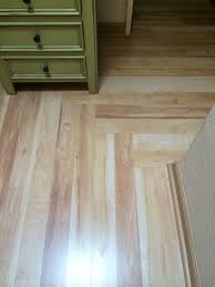 Golden Aspen Laminate Flooring Laminate Flooring In Hallway Changing Direction West Coast