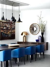 gray dining room ideas royal blue dining chairs blue gray dining room ideas refined dining
