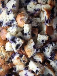 recipe bakerella u0027s easy blueberry muffin bread pudding great