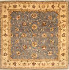 Indian Area Rugs Indian Zigler Beige Square 9 Ft And Larger Wool Carpet 28588