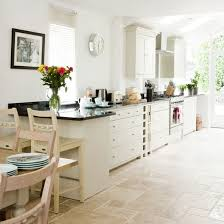 white kitchen floor ideas gorgeous white country kitchen kitchens and diner ideas of flooring