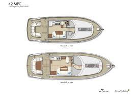 Luxury Yacht Floor Plans by Jetten 42 Mpc