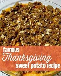 streuseled sweet potato casserole one of the best
