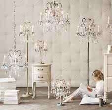 Child Chandelier Best 25 Chandelier Floor Lamp Ideas On Pinterest Victorian