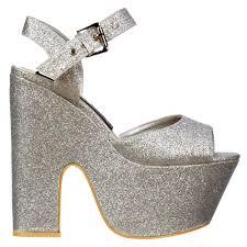 onlineshoe demi wedge peep toe chunky heels strappy sandal