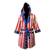 boxer costume rocky american flag robe usa boxer costume balboa apollo