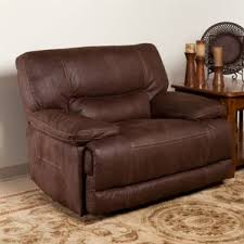 Chair And A Half Recliner Leather Oversized Recliners You U0027ll Love Wayfair