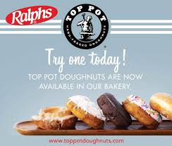 top pot doughnuts on top pot now available in all san