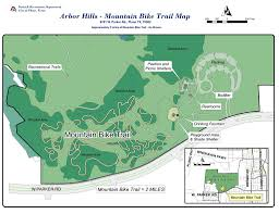 Plano Map Arbor Hills Nature Preserve Maplets