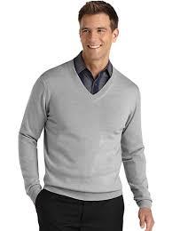 v neck sweater s sweaters vests pronto uomo light gray v neck sweater s