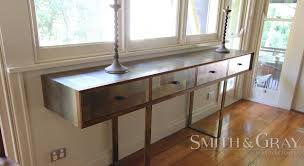 modern console tables with drawers console tables u2013 smith u0026 gray