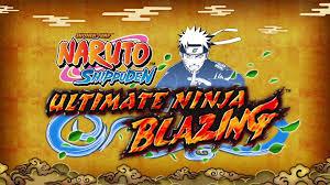 naruto shippuden naruto shippuden ultimate ninja blazing english trailer official