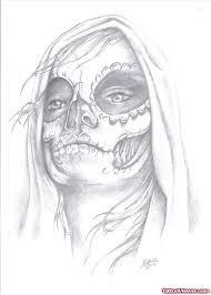 awesome grey ink gypsy head tattoo design tattoo viewer com