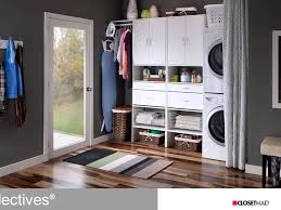 Closetmaid Systems Closetmaid Diy Laundry Or Utility Room Systems And Solutions Youtube