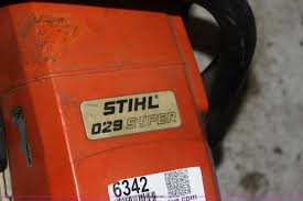 stihl 029 chain saw item 6342 sold may 10 kdot internet