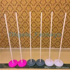 low price upright stand balloon column base stick balloon arch