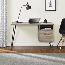 Ameriwood Computer Desk Ameriwood Home Landon Desk Weathered Oak Kitchen
