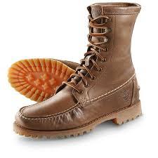 Light Work Boots Men U0027s Timberland Rugged Moc Toe Boots Light Brown 230289