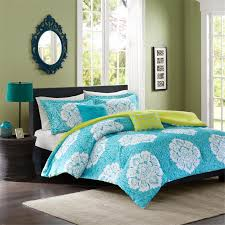 Cool Comforters Bedroom Comforters And Bedspreads With Blue Mattress And Small