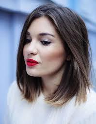 coupe carrã cheveux fins coiffure pour affiner un visage rond 40 coiffures canon pour les