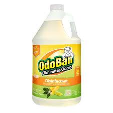 Home Depot Laminate Floor Cleaner Odoban 1 Gal Citrus Odor Eliminator And Disinfectant Multi