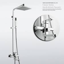 modern shower faucet nujits com bathroom shower fixtures