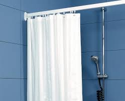 White Satin Curtains Shower Curtains Weighted Satin Striped White