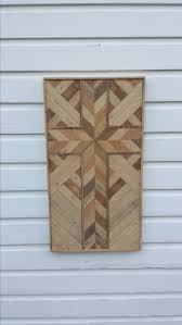 Decorative Wooden Crosses For Wall 42 Best Reclaimed Wood Art Images On Pinterest Reclaimed Wood