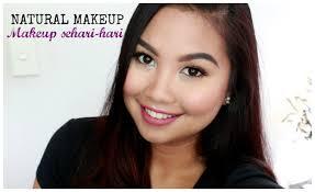 review tutorial makeup sehari hari natural makeup sehari hari kuliah kerja zebbyzelf youtube