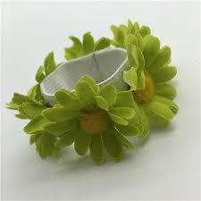 bun accessories accessories baby flower bun garland floral knot hair top