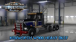 kenworth heavy duty american truck simulator mod showcase 7 kenworth w900 heavy duty