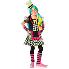 party city halloween costumes for kids girls tea cup mad hatter child halloween costume walmart com