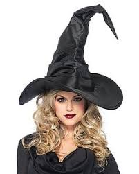 Witches Halloween Costumes Witch Halloween Costume Black Purple Pointed Hat Black Nail Polish