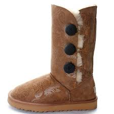 ugg boots sale bailey button triplet ugg bailey button triplet boots 1873 chestnut sale 89 00