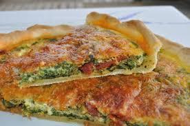 cuisine epinard recette tarte aux épinards et chorizo cuisinez tarte aux épinards