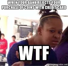 Meme Credit Card - meme credit card purchase rejected steemit