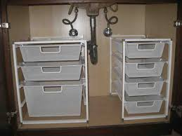 Bathroom Cabinet Storage by 29 Under Cabinet Drawers Bathroom Under Sink Bathroom Storage The
